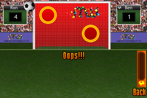 Screenshot mSoccer