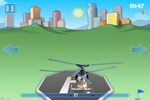Screenshot Helicopter Landing Pro